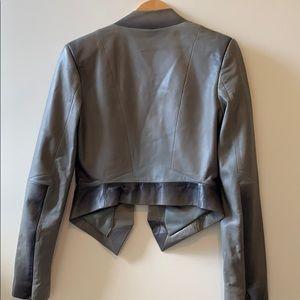 Herve Leger Jackets & Coats - Herve Leger Leather jacket